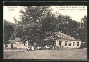 AK Helenental, Gasthaus & Hotel Krainerhütte