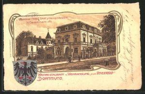 Lithographie Dortmund, Weinrestaurant und Weinhandlung