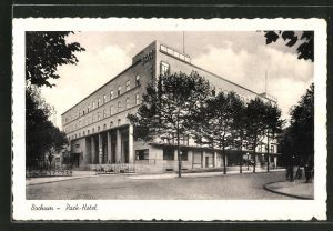 AK Bochum, Partie am Parkhotel Haus Rechen