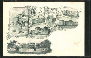 AK Bayreuth, Gymnasium, Lehrerbildungsanstalt, Centralschule