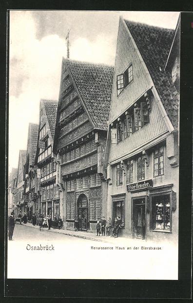 AK Osnabrück, Renaissance Haus an der Bierstrasse