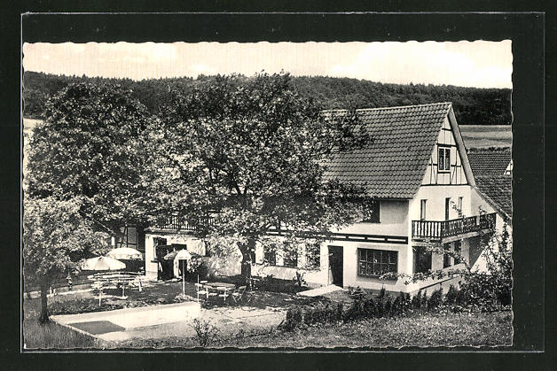 AK Wickersrode, Hotel-Pension Hauchwitz