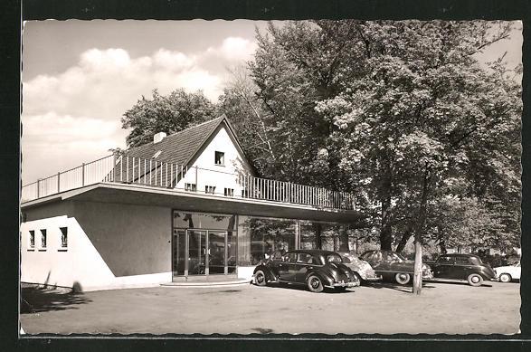 AK Dülmen /Westf., Cafe Parkhaus