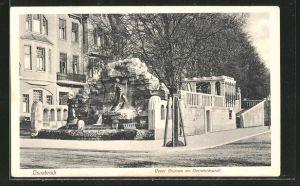 AK Osnabrück, Neue Brunnen am Herrnteichswall