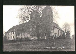 AK Reinhausen, Partie an der Kirche