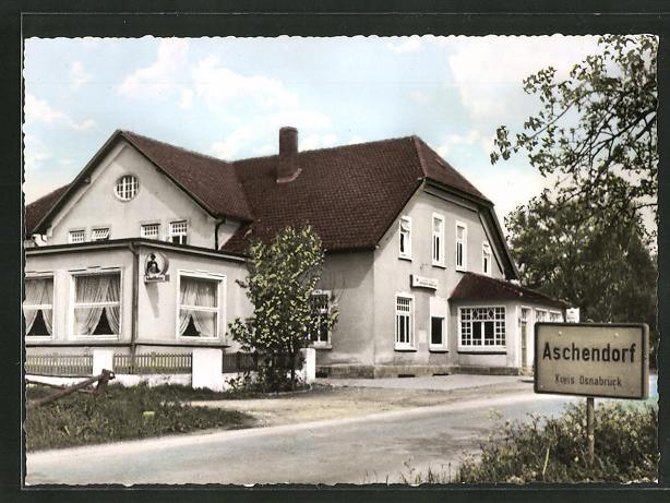 AK Aschendorf / T.W., Gasthaus & Pension Kröger 0