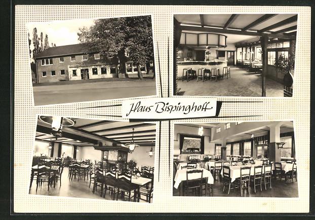 AK Dülmen / Westf., Gasthaus Bispinghoff 0