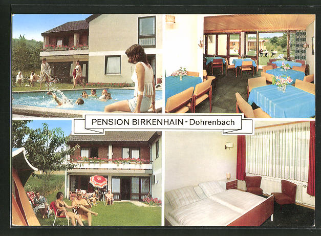AK Witzenhausen-Dohrenbach, Hotel-Pension Birkenhain 0
