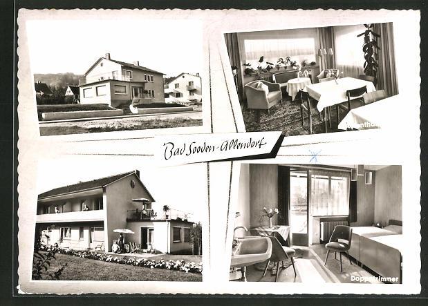 AK Bad Sooden-Allendorf, Hotel-Kurpension Reinhard, Freiherr-vom-Stein-Strasse 21 0