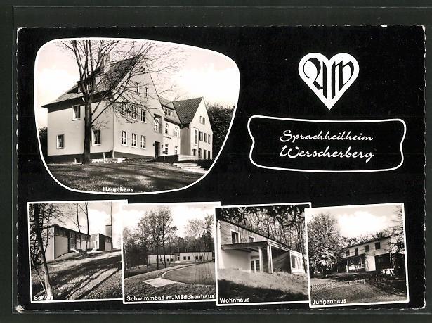 AK Wissingen, Elisabeth-Frerichs-Heim, Haupthaus, Schule 0
