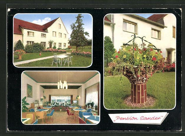 AK Laer / Westf., Hotel-Pension Hellweg 0