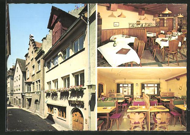AK Lindau a. Bodensee, Gasthaus Müllers Weinstuben, In der Grub 30 0