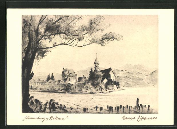 AK Wasserburg a. Bodensee, Ortsansicht 0
