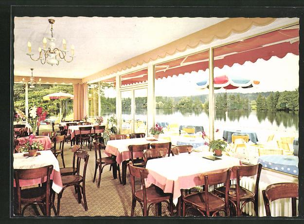 AK Bad Wörishofen, Terrassen-Café