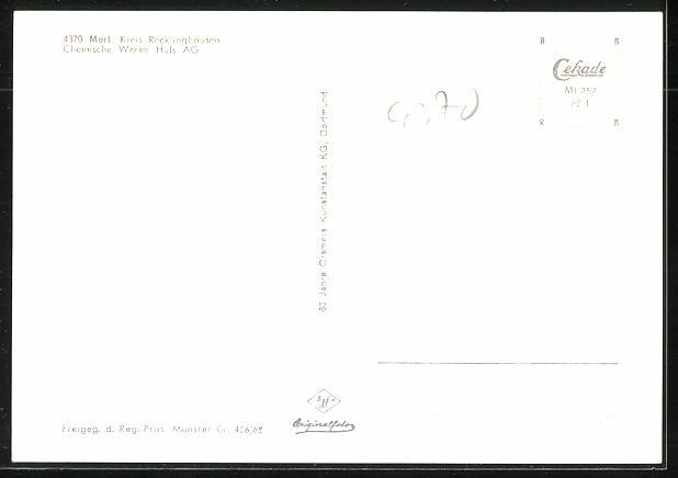 AK Marl, Chemische Werke Hüls AG aus der Vogelschau 1
