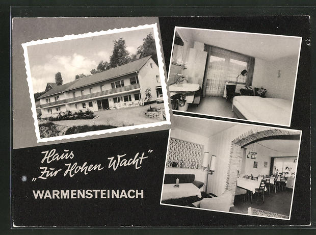 AK Warmensteinach / Fichtelgebirge, Hotel-Haus