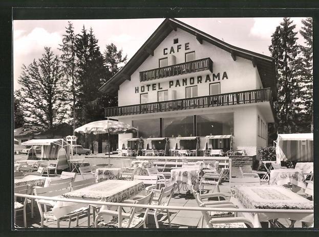 AK Oberstdorf / Allgäu, Hotel-Café Panorama 0