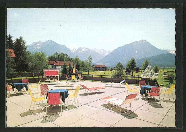 AK Oberstdorf / Allgäu, Hotel-Kneippkurhaus