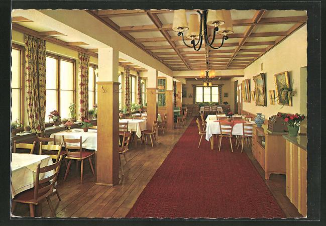 AK Maria Rain / Allgäu, Café-Pension-Restaurant Sonnenhof