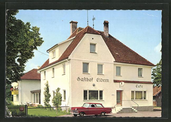 AK Ottobeuren / Allgäu, Café-Gasthaus Eldern 0