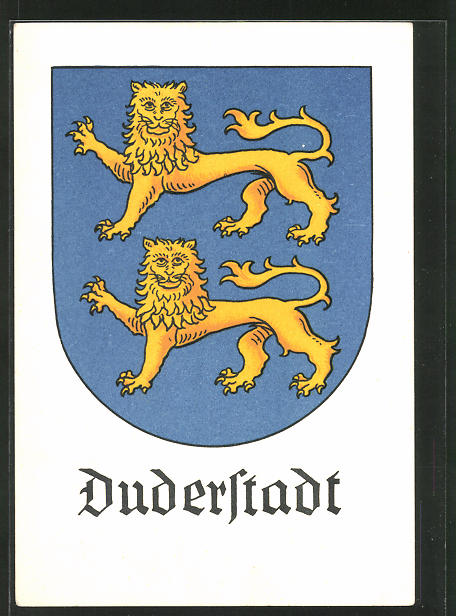 AK Duderstadt, Wappen der Stadt