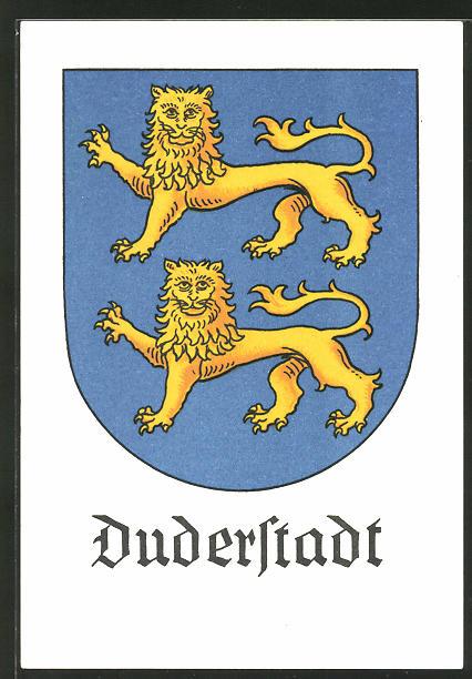 AK Duderstadt, Wappen der Stadt 0