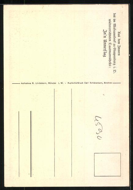 AK Cloppenburg, Innenansicht des Museums 1
