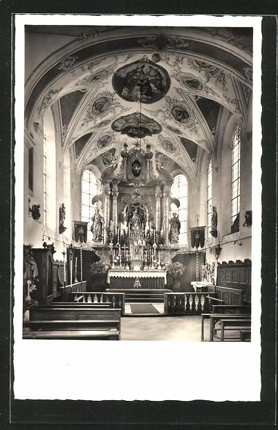 AK Dorschhausen, Wallfahrtskirche, Hochaltar 0