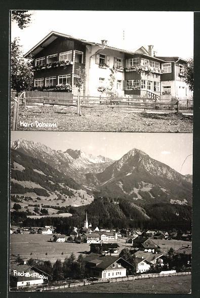 AK Fischen / Allgäu, Totalansicht, Hotel Haus Daheim 0