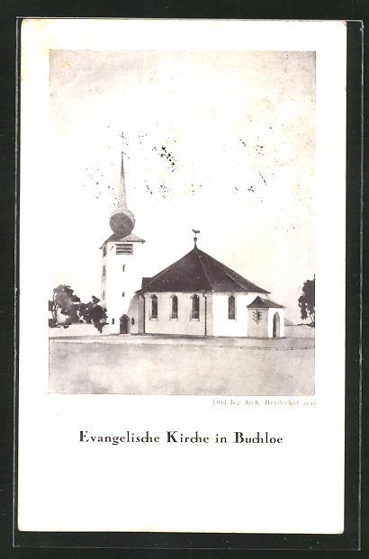 AK Buchloe, Evangelische Kirche 0