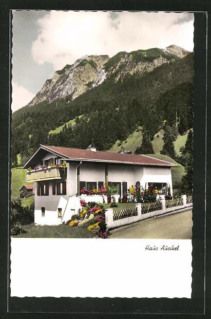 AK Oberstdorf / Allgäu, Hotel Haus Aurikel 0