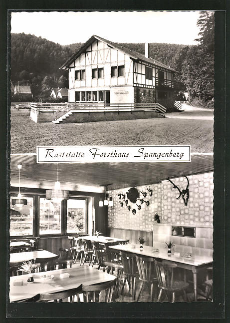 AK Erfenstein / Pfalz, Raststätte Forsthaus Spangenberg 0