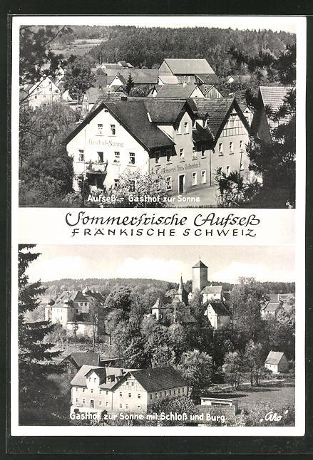 AK Aufsess, Gasthaus & Brauerei