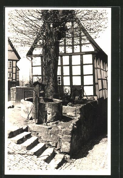 AK Tecklenburg, Partie am alten Brunnen 0