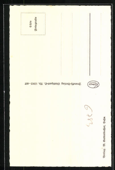 AK Dahn, Jungfernsprung im Dahner Felsenland 1
