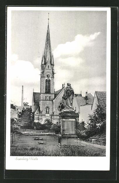 AK Eisenberg, Denkmal & Kirche 0