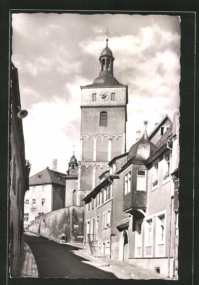 AK Kirchheimbolanden, Blick in die Mozartstrasse 0