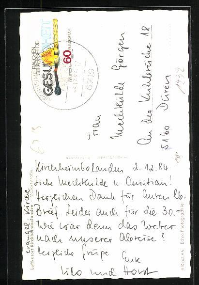 AK Kirchheimbolanden, Blick in die Mozartstrasse 1