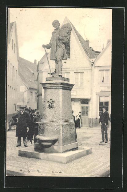 AK Münster, Denkmal Kiepenkerl 0