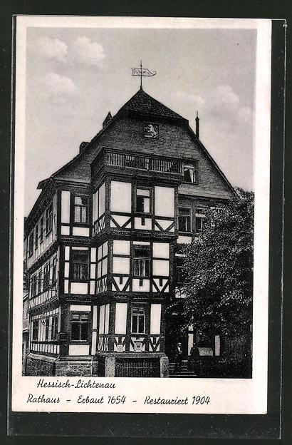 AK Hessisch-Lichtenau, Rathaus 0