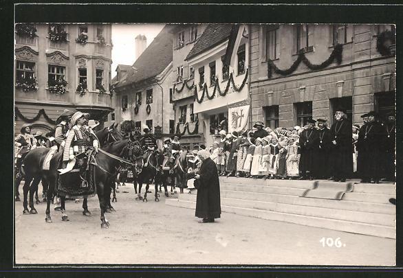 AK Memmingen, Volksfest, Grosser Fischertag 1925, Festumzug 0