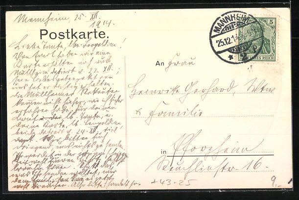 AK Mannheim, Lehrergesangsverein Mannheim-Ludwigshafen, Musikdir. C. Weidr und Präsident O. Kabus 1