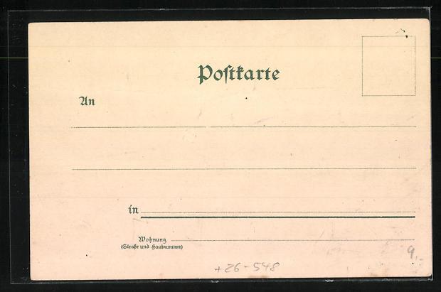 Künstler-AK Ludwig Zorn: Feldberg, Feldsee und Raimarti-Hof 1