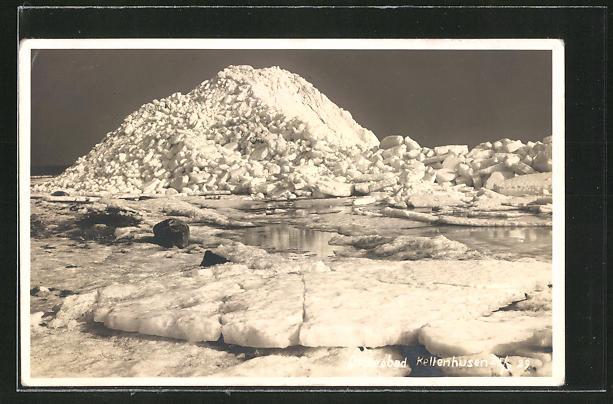 AK Ostseebad Kellenhusen, Eisschollen auf der Ostsee 0