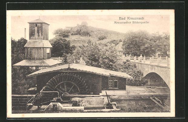 AK Bad Kreuznach, Gesteinsformation, Kreuznacher Bäderquelle 0