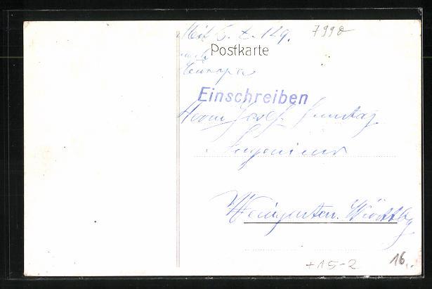 Künstler-AK Friedrichshafen, Erster Aufstieg des Luftschiffes Graf Zeppelin am 2. Juli 1900 1