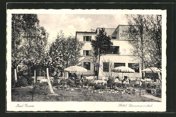 AK Bad Essen, Hotel Sonnenwinkel, Bauhaus 0