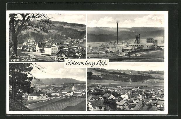 AK Peissenberg /Obb., Blick auf das Kohlebergwerk 0