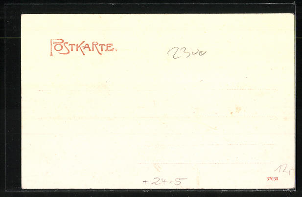 AK Kiel, Strassenpartie während der Sturmflut 1904 1