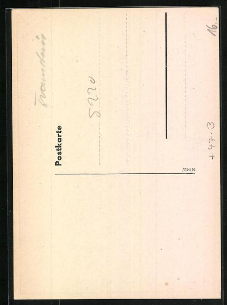 AK Traunstein, Absolvia Truna 1942, Adler und Wappen 1